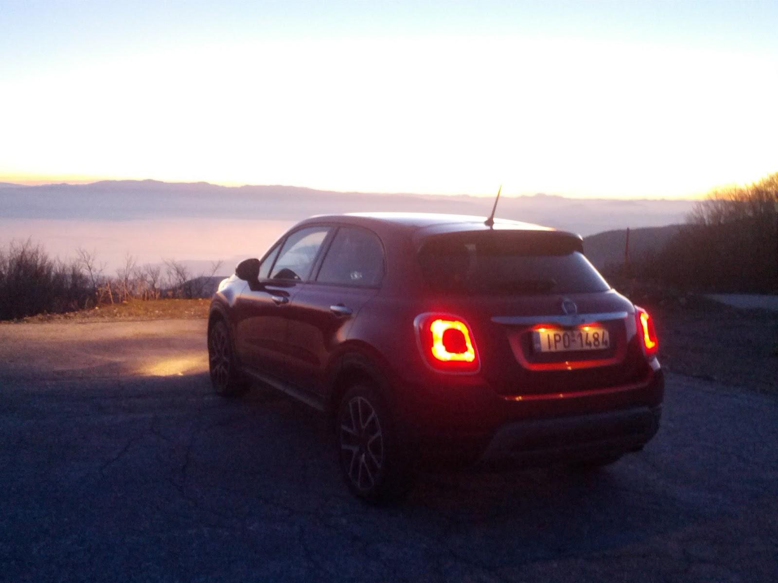 IMG 20151213 172721 Ταξιδεύω με το Fiat 500X στο παγωμένο Πήλιο compact SUV, Crossover, Fiat, Fiat 500X, SUV, TEST, zblog, ΔΟΚΙΜΕΣ, Ταξίδι