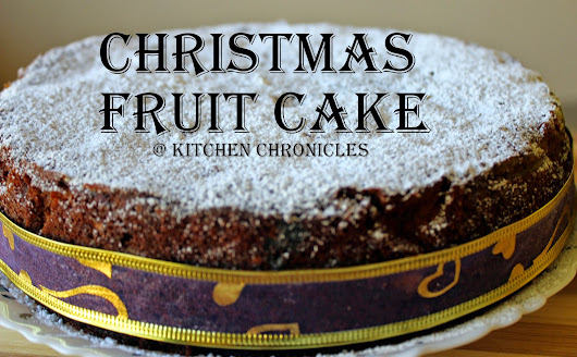 Kerala Christmas Fruit Cake