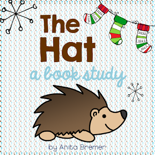 Book study companion activities to go with The Hat by Jan Brett