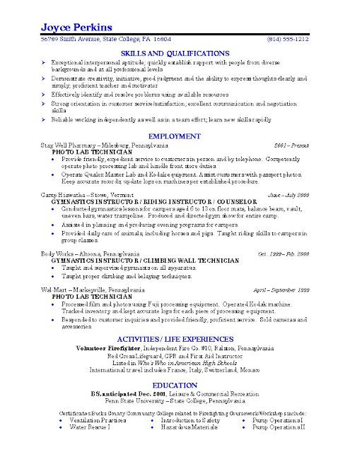 student job resume template – brianhans