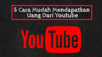 uang dan youtube
