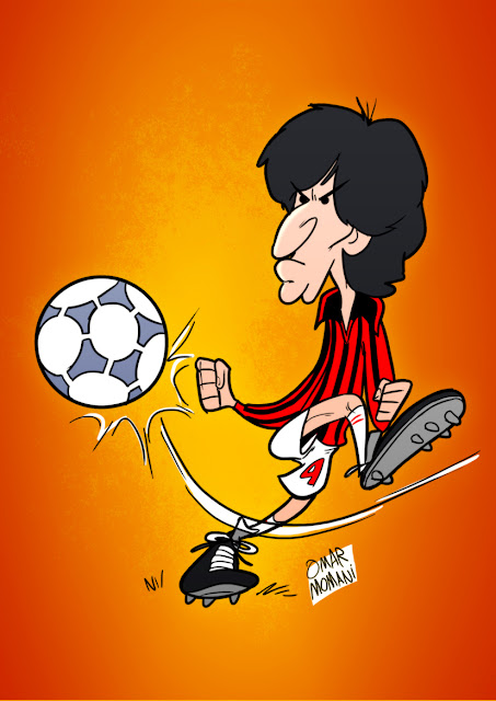Demetrio Albertini cartoon caricature