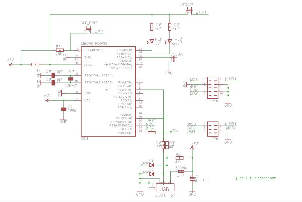 USBasp - USB programmer for Atmel AVR controllers - Robomart Blog