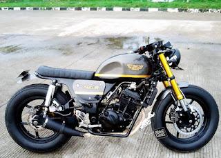 ninja 250 custom bratstyle