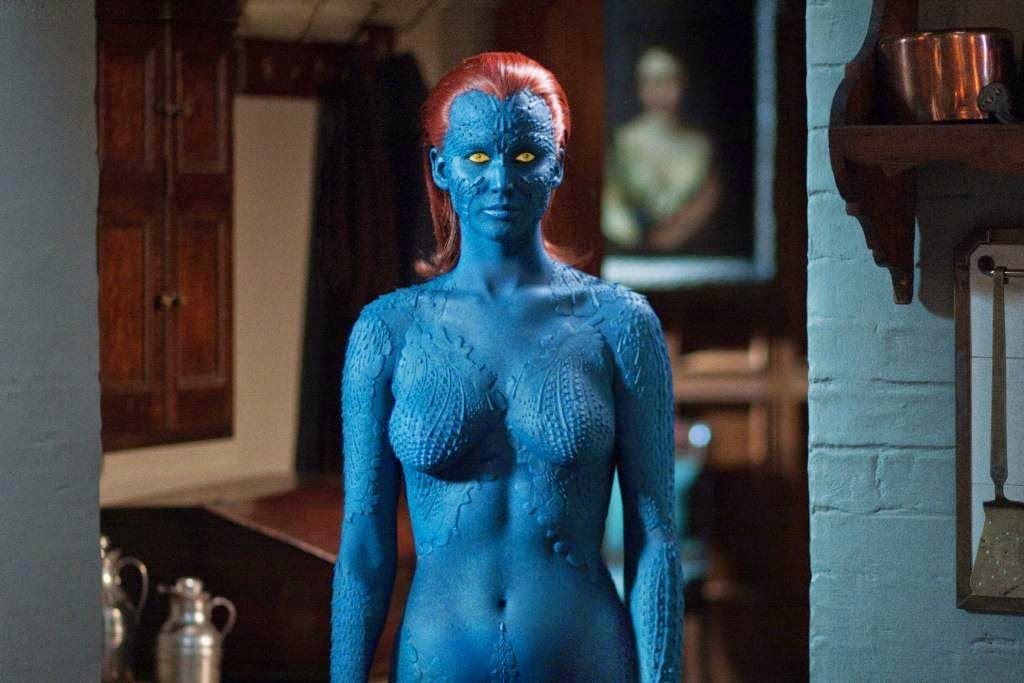 Jennifer Lawrence as Mystique aka Raven, X-Men: Days of Future Past, Directed by Bryan Singer