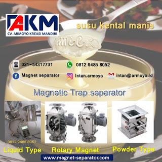 Jual magnetic trap separator