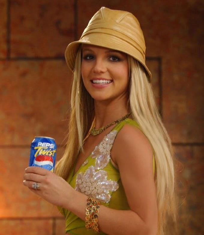 Britney Spears - Pepsi Twist (Behind The Scenes)