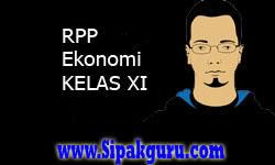 RPP Ekonomi Kelas XI Lengkap | RPP