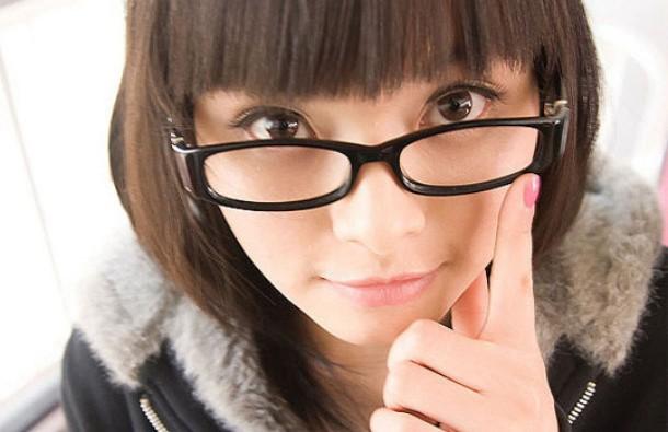 Cute Girls Wearing Glasses As Fashion