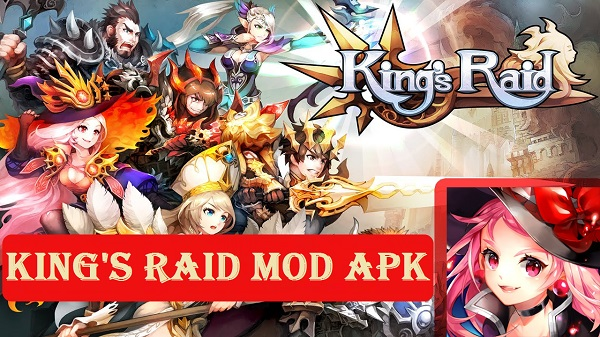 Kings Raid MOD APK for Android Game Download
