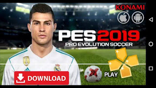 Download Latest Pes 2019 Ppsspp Iso File For Android, iOS and Windows.