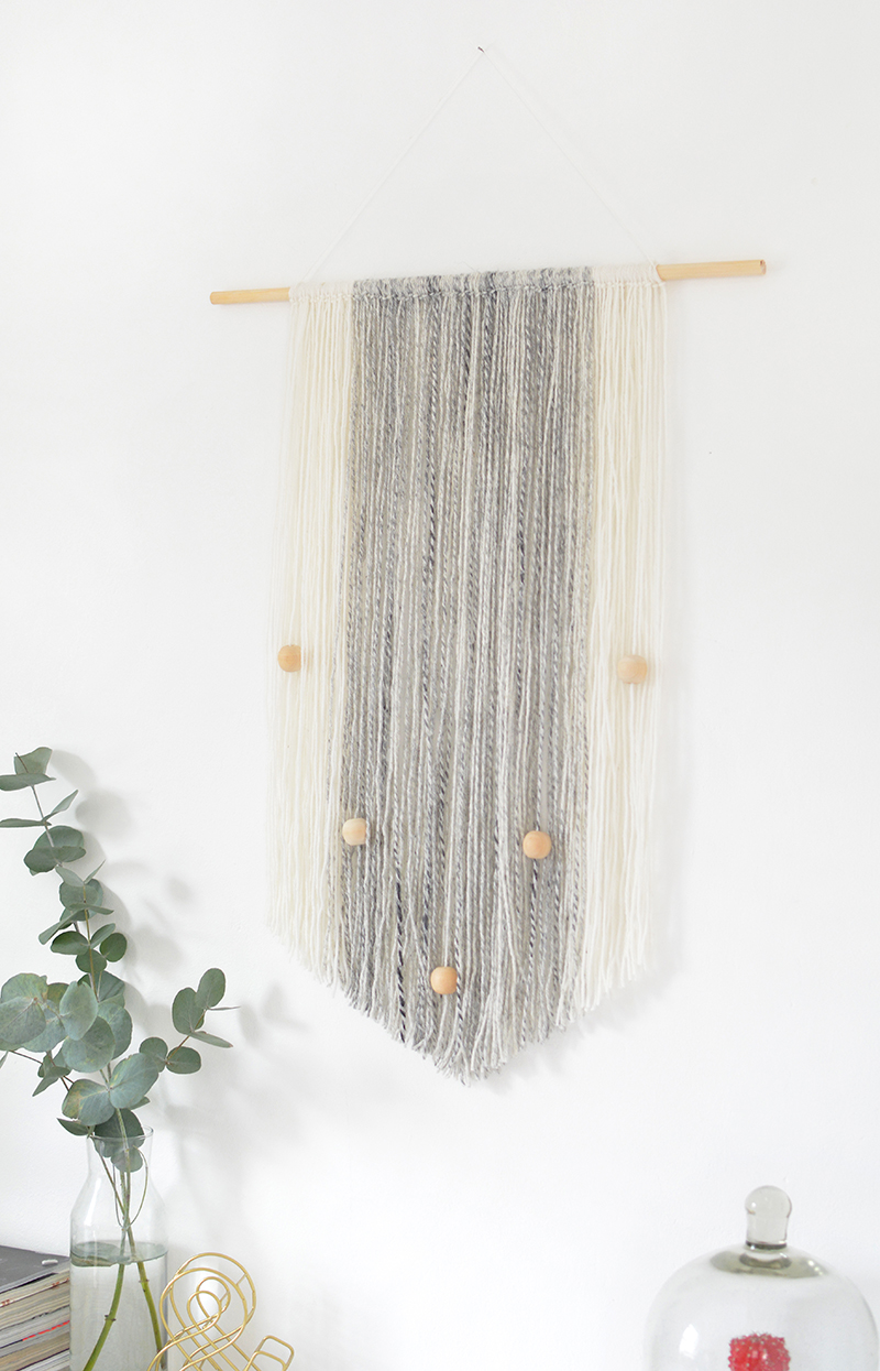 no weave wall hanging tutorial