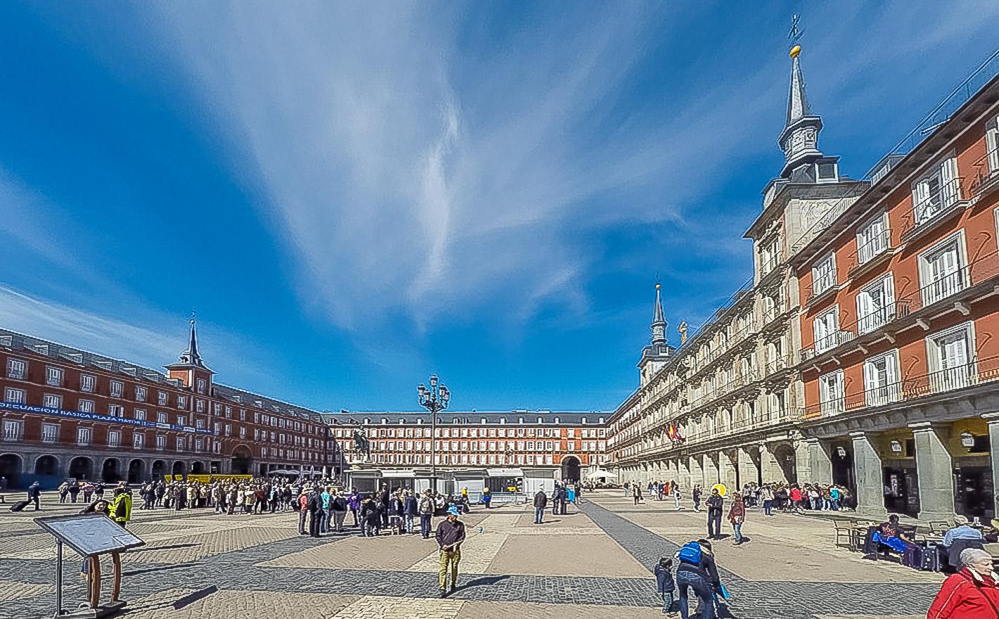 Plaza Mayor (Madrid, Spain)