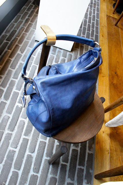 handbag stool at Pollen st social