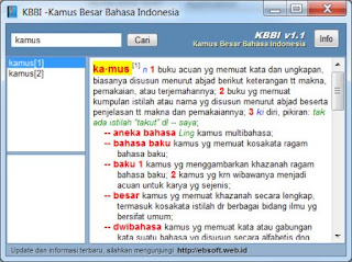 Download Kamus Besar Bahasa Indonesia
