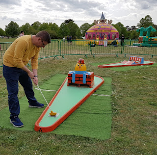 Crazy Golf at Royal Victoria Country Park in Netley, Southampton