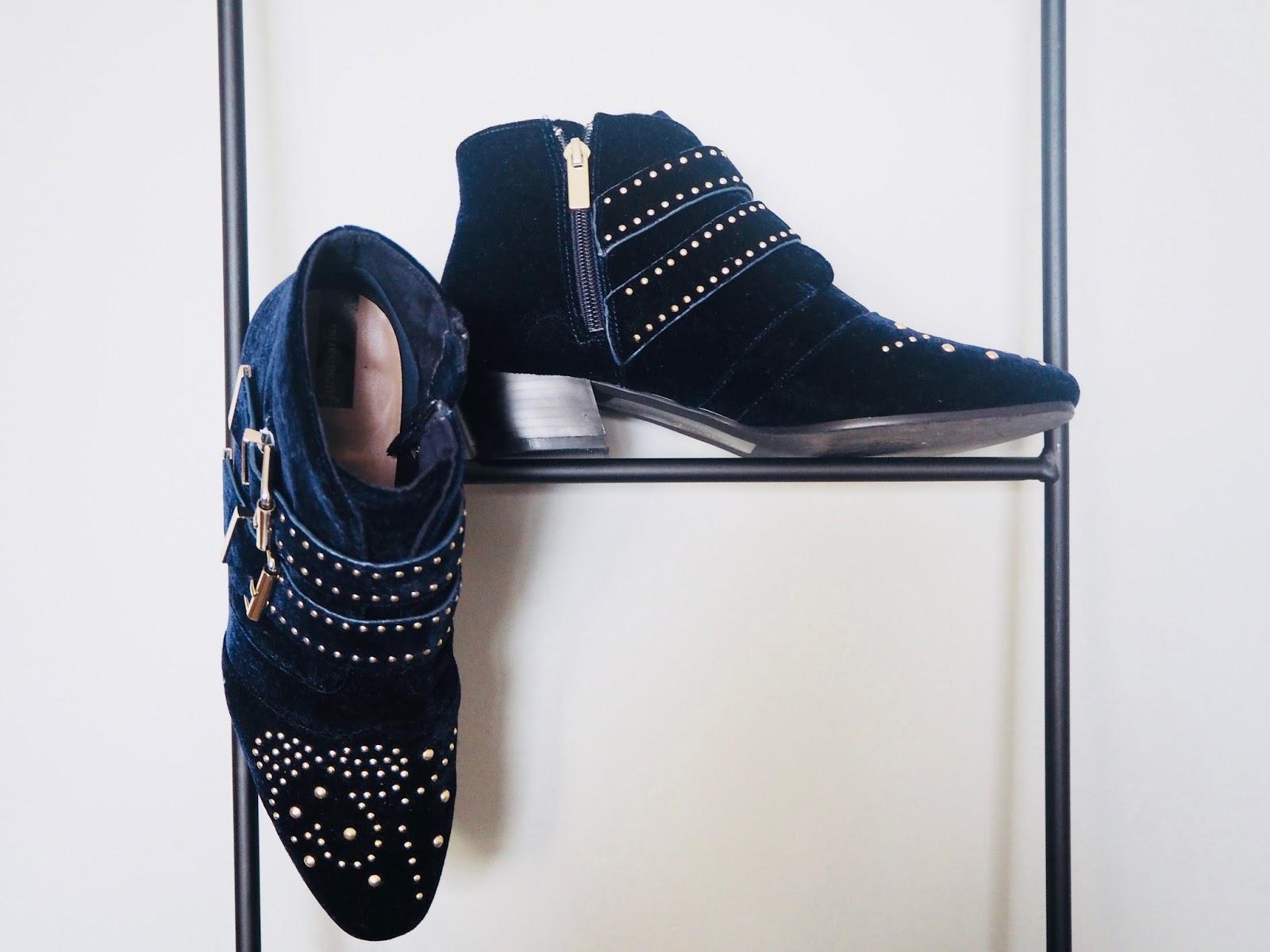 Clarks  Blue Suede Shoes