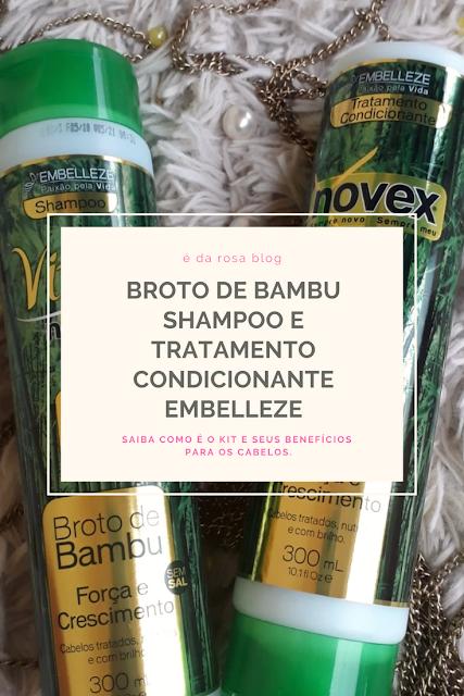 Novex e Vitay Broto de Bambu