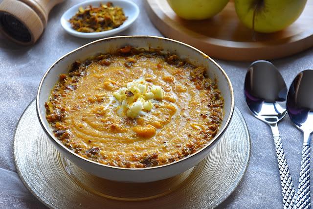 soupe carotte coco vadouvan pomme