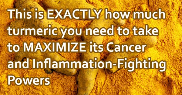 100 Science-Proven, Evidence-Based Facts About Turmeric's Cancer & Inflammation Reversing Powers