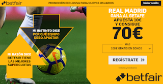 betfair supercuota Real Madrid gana Getafe 25 abril 2019
