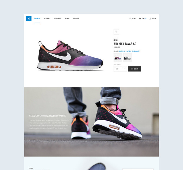 Bree e-commerce – Free PSD