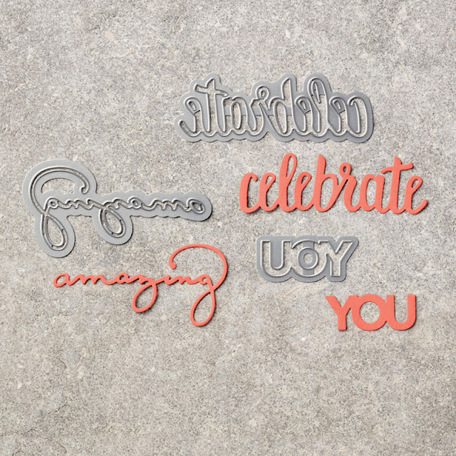Celebrate You thinlits dies from Stampin' Dies