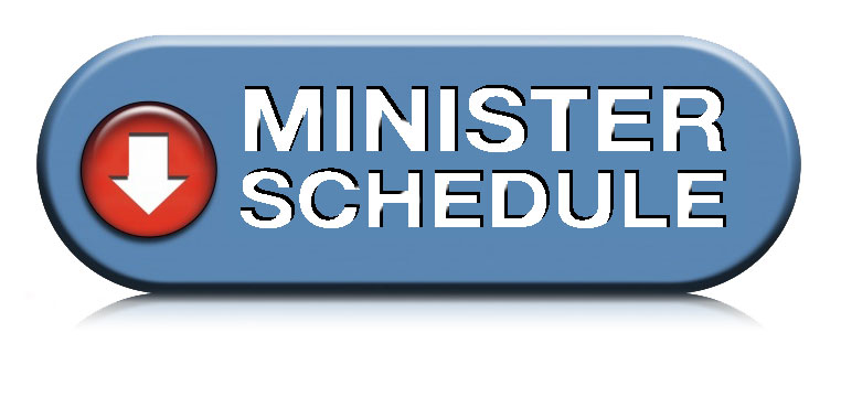 Minister Schedule