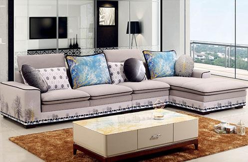 Bộ sưu tập những mẫu ghế sofa nỉ cho phòng khách hiện đại