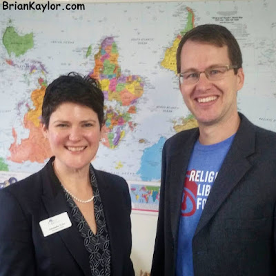 Discussing Religious Liberty, Johnson Amendment, & Baptist Cooperation with Amanda Tyler ~ Brian Kaylor