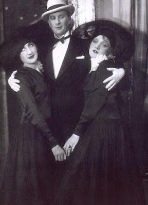 Marlene Dietrich et Margo Lion