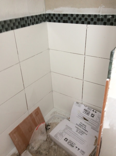 Renovation project - installing a new bathroom