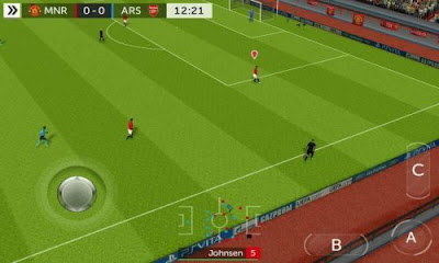 Tampilan Game FTS Mod FIFA 18 Android