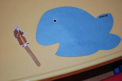 Preschool Craft Jonah Running From God