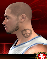 NBA 2K13 Neck Tattoo Mod - Peace Symbol
