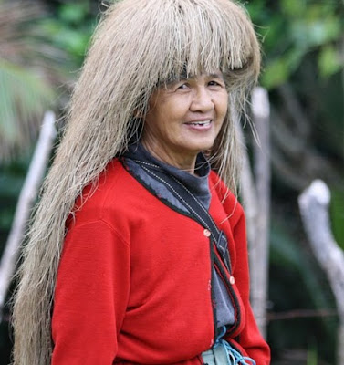 vakul headdress in batanes