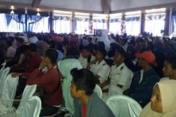 Seribuan Pelajar di Lampung Tengah Antusisas Menghadiri Seminar Nasional Wimnus