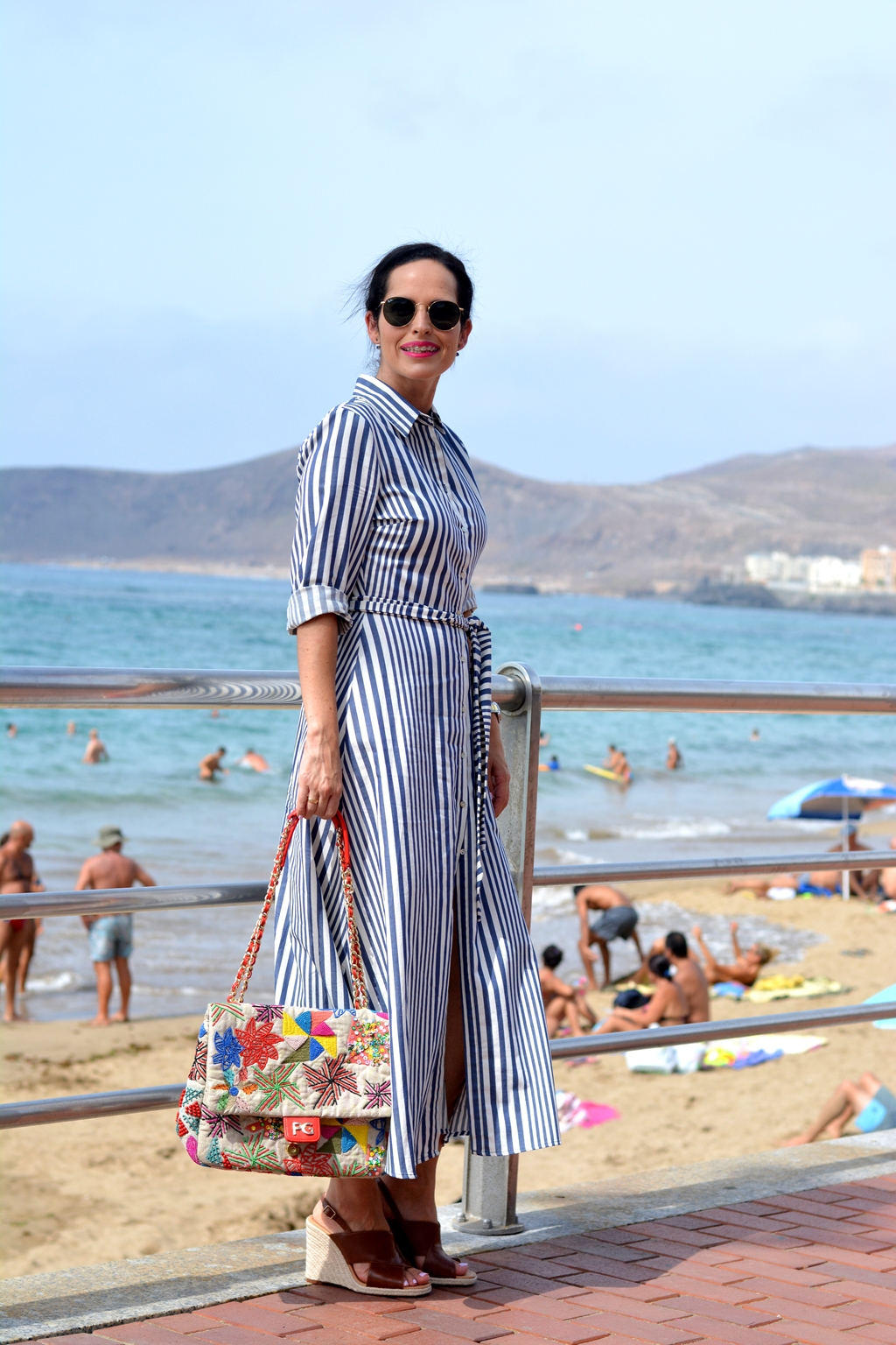 zara-striped-long-dress-personal-shopper-look