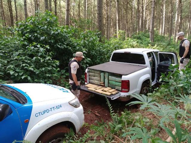 """""""Operación Pescador"""": secuestramos más de 1200 kilos de marihuana en Misiones"""