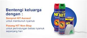 HIT Obat Nyamuk, Pilihan Obat Nyamuk Keluarga Anda
