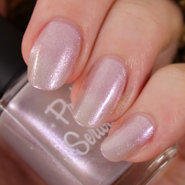 Pretty Serious Fairy Lights nail polish swatches & review