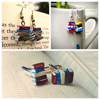 Prize B - Choice of Coryographies' Book Earrings or Cufflinks