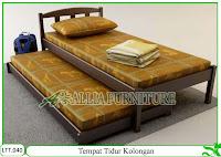 Tempat Tidur Dipan Klender Kolongan
