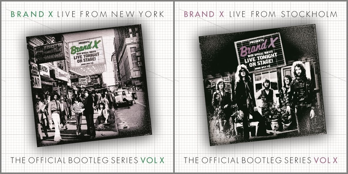 Unreleased Live Recordings By Fusion Legends Brand X Now