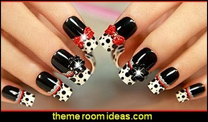cute nail design ideas bow decorations nail art decorations