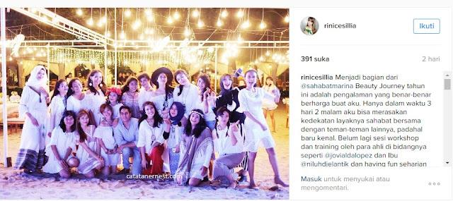 Rini Cesillia blogger indonesia