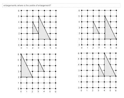 MEDIAN Don Steward mathematics teaching: drawing it a bit