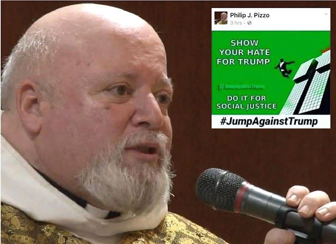Sacerdote católico pide a fieles adversos a Trump suicidarse tirándose de edificios por justicia social
