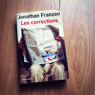 Le roman Les Corrections de Jonathan Franzen paru à L'Olivier