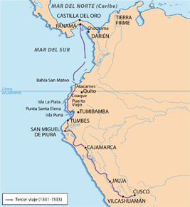 Tercer viaje de Pizarro